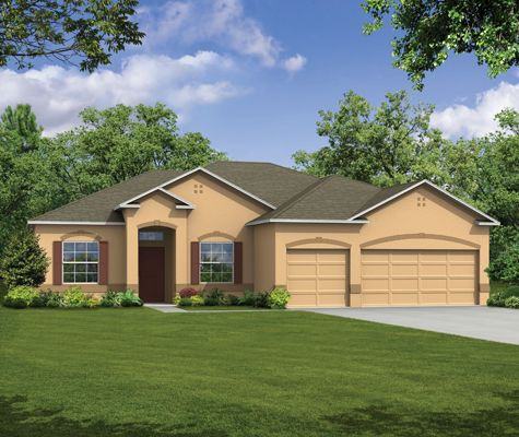 Sierra - Davis Estates: Saint Cloud, FL - Maronda Homes of Central FL