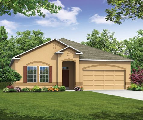Hampton - Mabel Loop Ridge: Dundee, FL - Maronda Homes of Central FL