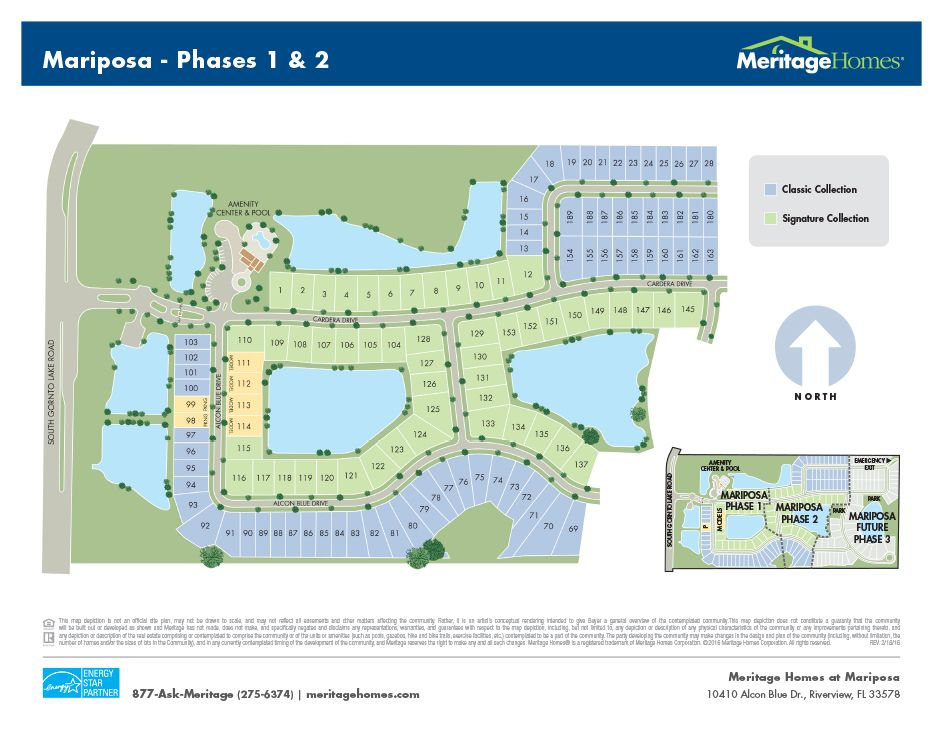 Mariposa New Homes In Riverview Fl By Meritage Homes