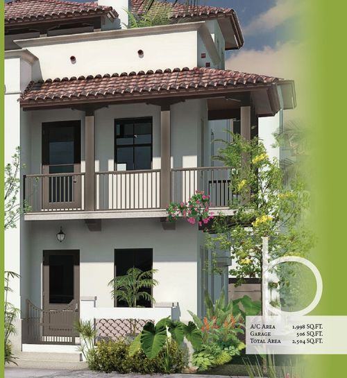 Townhomes of Downtown Doral by CC Devco in Broward County-Ft. Lauderdale Florida