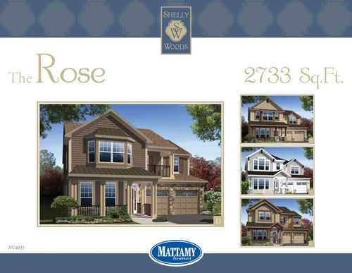 Shelly Woods by Mattamy Homes in Charlotte North Carolina