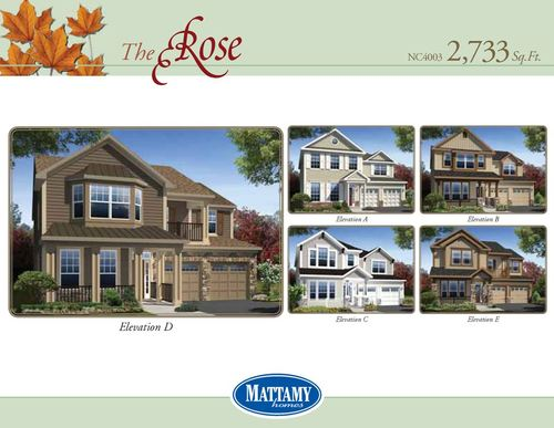 house for sale in Westland Farm by Mattamy Homes