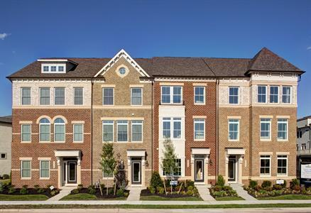 house for sale in One Loudoun Luxury Townhomes by NVHomes
