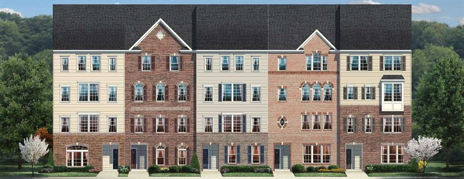 Villages Of Urbana Townhome Condominiums by Ryan Homes