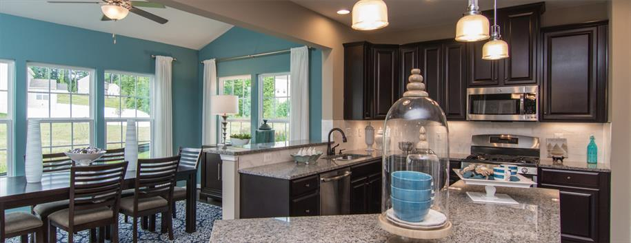Ryan homes the park at centerville commons ravenna for Kitchen morning room designs