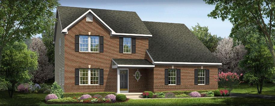 Palermo - Waterford Landing- The Manor: Fairborn, OH - Ryan Homes
