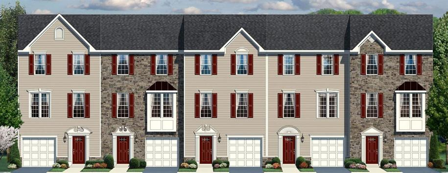 Beethoven - Wilton's Corner Townhomes: Sicklerville, NJ - Ryan Homes