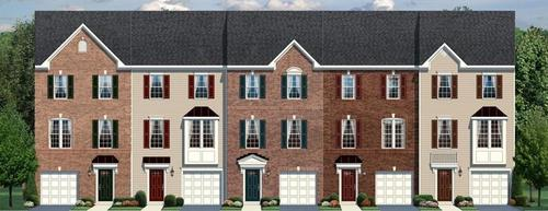 Rose Glen by Ryan Homes in Monmouth County New Jersey