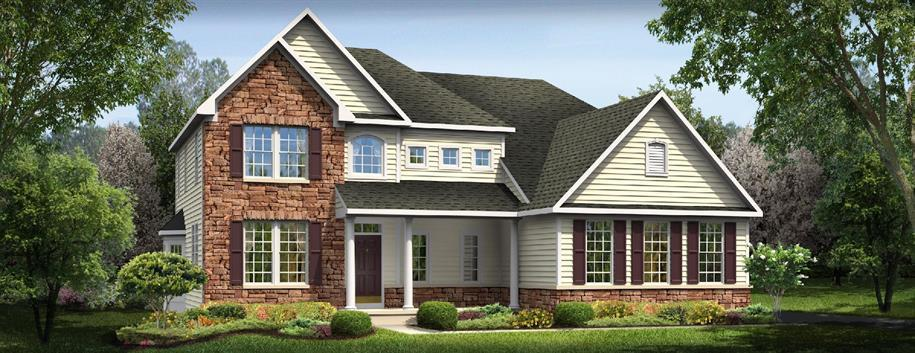 Victoria Falls - Estates At Sherman Lakes: Galena, OH - Ryan Homes