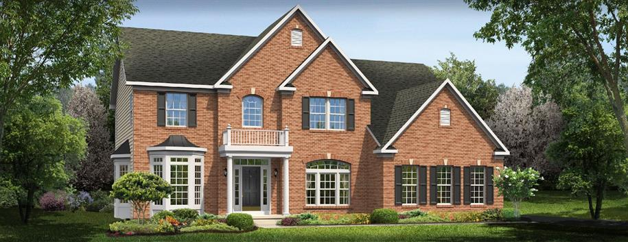 Courtland Gate - Estates At Sherman Lakes: Galena, OH - Ryan Homes