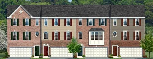 Park Place Townhomes by Ryan Homes in Pittsburgh Pennsylvania
