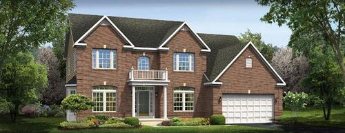 Waterford Place by Ryan Homes in Pittsburgh Pennsylvania