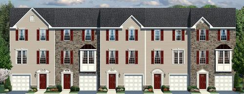 Washington Square Townhomes in OJR School District by Ryan Homes in Philadelphia Pennsylvania