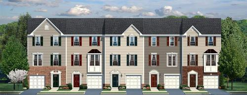 Riverwood Townhomes by Ryan Homes in Charlottesville Virginia
