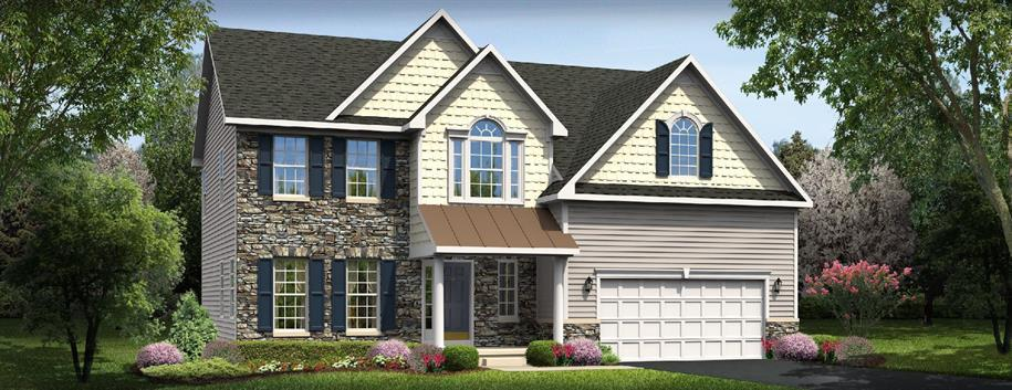 Palermo - The Woods at Cool Springs: Charlestown, MD - Ryan Homes