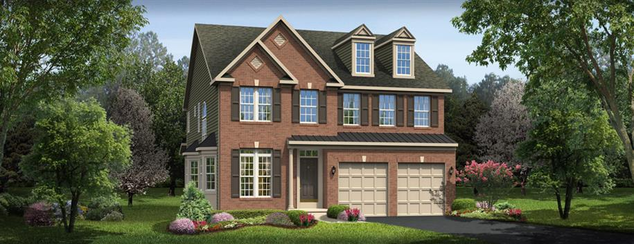 Clarksburg Village Traditional Single Family Homes by Ryan Homes
