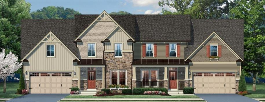 Ashford Carriage Home - Forest Landing Carriage Homes: Frankford, DE - Ryan Homes