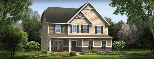 Villas of Bertram by Ryan Homes in Akron Ohio