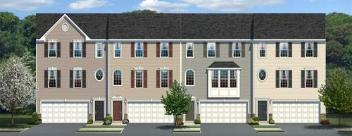 Villages at Parkers Mill by Ryan Homes in Philadelphia Pennsylvania