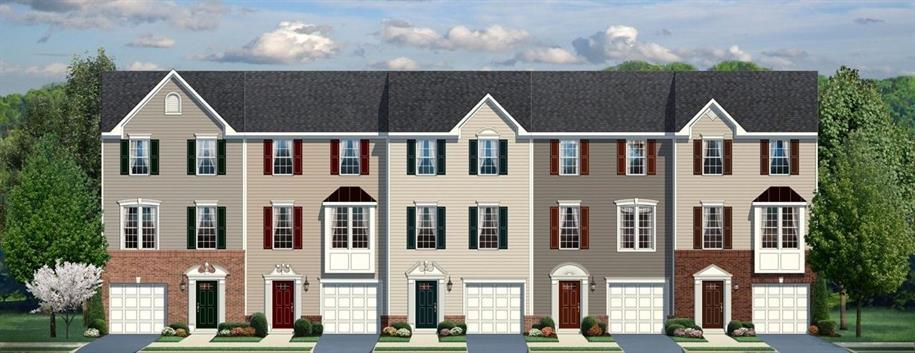 Mozart - Cinnaminson Harbour Townhomes: Cinnaminson, NJ - Ryan Homes
