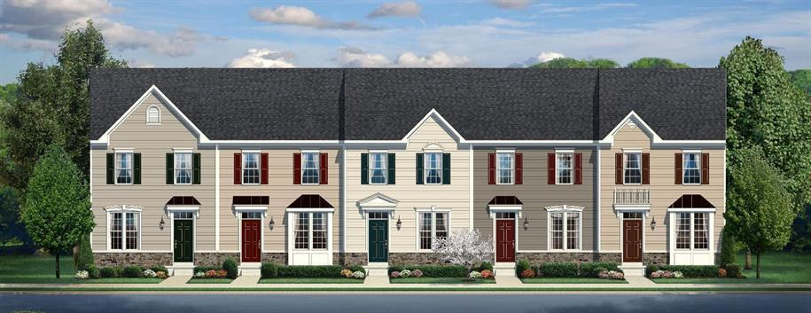 Mozart - Riverwood Townhomes: Charlottesville, VA - Ryan Homes