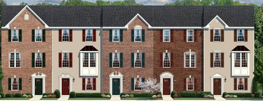 Beethoven - Pavilions at Pantops: Charlottesville, VA - Ryan Homes