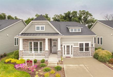 Armistead - 55+ Active Adult Lifestyle at The Courtyards at Waverly Woods: Marriottsville, MD - NVHomes