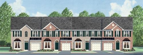 Townes at Cardinal Creek by Ryan Homes in Greenville-Spartanburg South Carolina