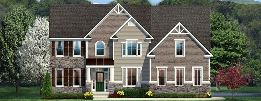 Jefferson Square - Estates At Sherman Lakes: Galena, OH - Ryan Homes