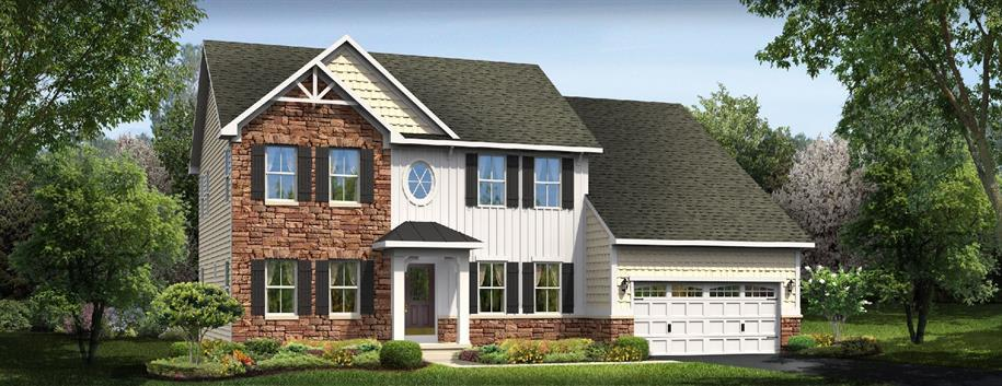 High Hook Farms Single Family Homes by Ryan Homes