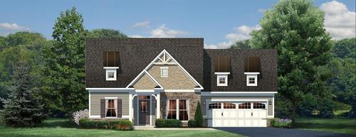 Kelsey Glen by Ryan Homes in Greenville-Spartanburg South Carolina