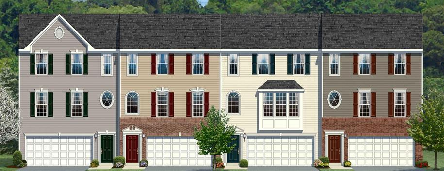 Wexford - Prestley Heights Town Homes: Carnegie, PA - Ryan Homes
