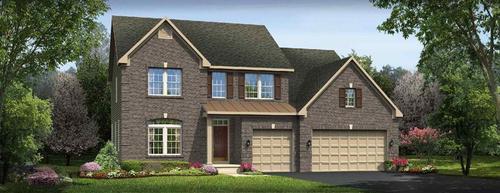house for sale in Winding Creek- Clearcreek Twp. Springboro School District by Ryan Homes