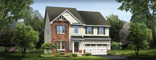 Glen Lake by Ryan Homes in Greenville-Spartanburg South Carolina