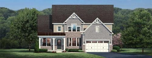 Lakes of Green by Ryan Homes in Akron Ohio