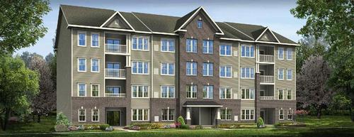 Legacy at the Courtyards at Waverly Woods Condos by Ryan Homes in Baltimore Maryland