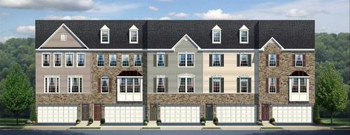 Lagrange Townhomes by Ryan Homes in Philadelphia Pennsylvania