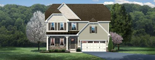 Sheridan by Ryan Homes in Charlotte North Carolina