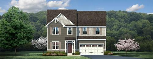 Village at Pine Single Family Homes by Ryan Homes in Pittsburgh Pennsylvania