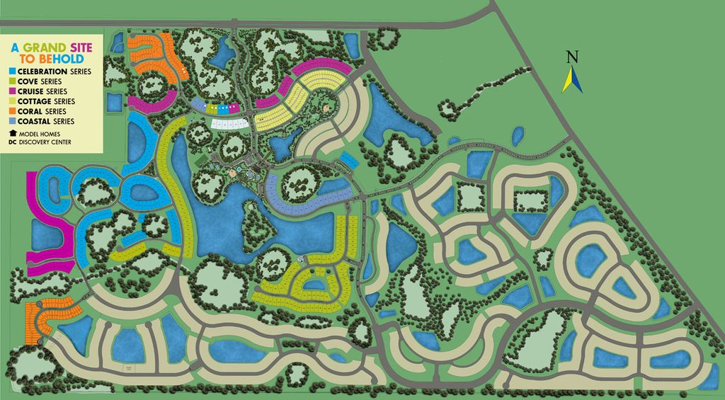 Grand Palm Site Map