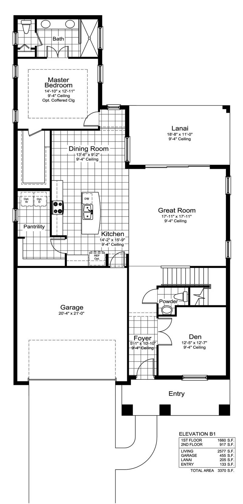 Home for First home builders of florida floor plans