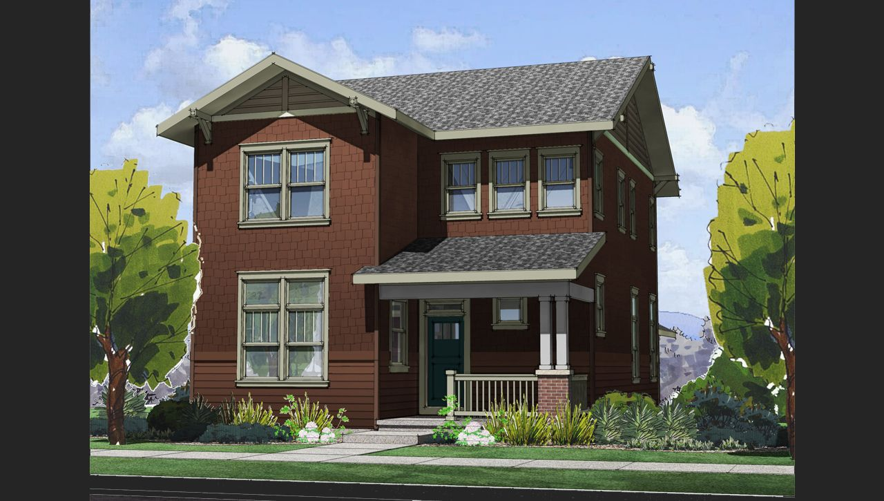 Belcaro home plan by thrive home builders in solaris for Thrive homes denver