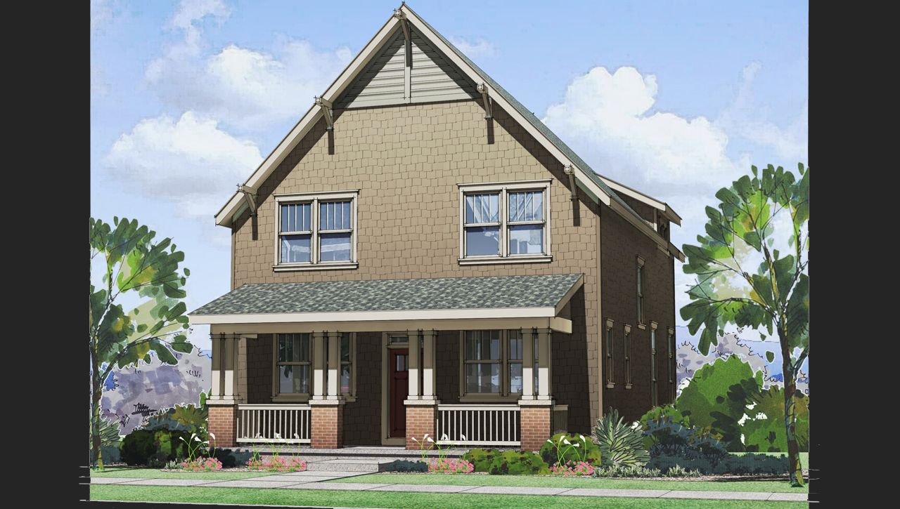 Hale home plan by thrive home builders in solaris for Thrive homes denver