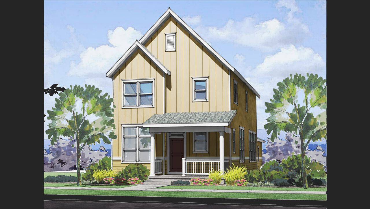 Merrill home plan by thrive home builders in solaris for Thrive homes denver