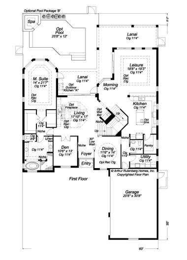 Beazer homes floor plans thefloors co for Beazer homes floor plans