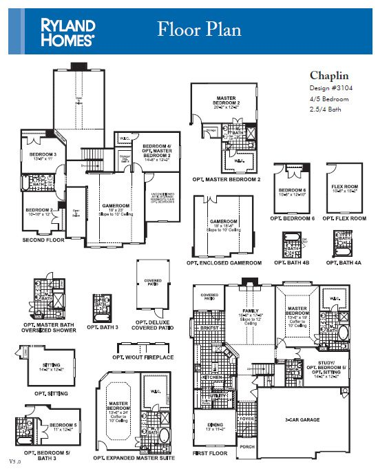 Ryland Covington Plan At Falcon Pointe By Newland