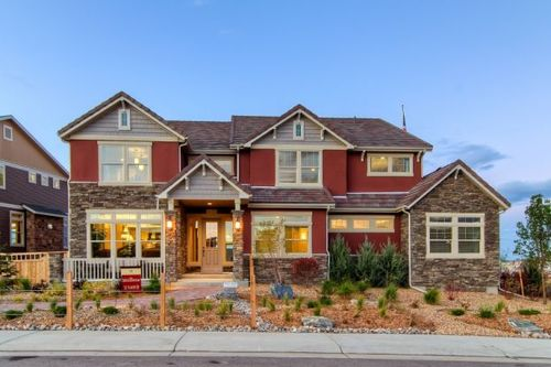 Erie Highlands by Oakwood Homes in Denver Colorado