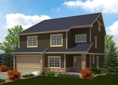 Cumberland Green by Oakwood Homes in Colorado Springs Colorado