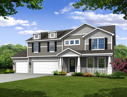 Covington by Olthof Homes in Gary Indiana