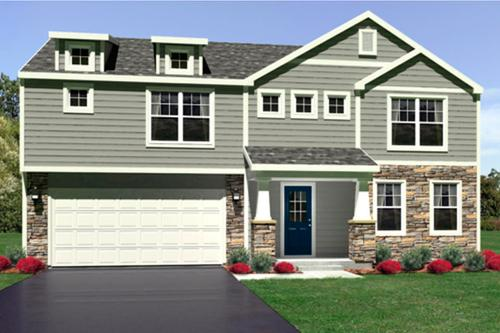 Saddle Creek by Olthof Homes in Gary Indiana